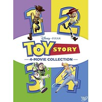 Walt Disney's Toy Story 1-4 Movie Collection DVD