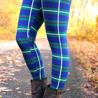 Plaid Perfect Leggings - ONE SIZE FITS MOST