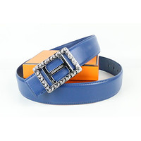 Hermes belt men's and women's casual casual style H letter fashion belt150