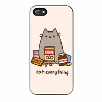 Pusheen The Cat Eat Everything iPhone 5s Case