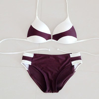 Mix Color Pattern Bathing Suits
