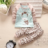 2016 New Newborn Baby Clothing Sets cotton suits Sets children's clothing girls baby boy suits cotton clothes for children