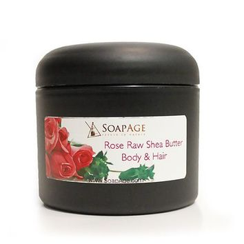 Rose Whipped Shea Butter