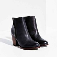 Silence + Noise Vegan Leather Half-Stacked Boot