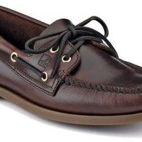 Sperry Top-Sider Authentic Original 2-Eye Boat Shoe Amaretto, Size 12W  Men's Shoes