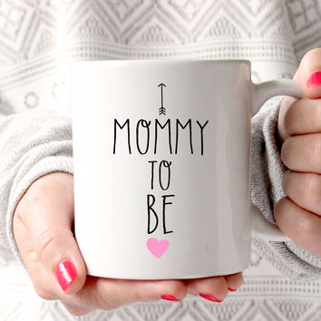 Mommy To Be Mug, Pregnancy Announcement