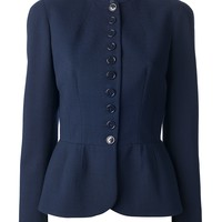 Alexander Mcqueen Fitted Military Jacket - Satù - Farfetch.com