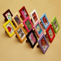 Simple Wooden Picture Frames Vintage Photo Frame DIY Desktop Wood Picture Frame Wedding Photo Frames Wall Decor