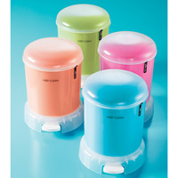 The Container Store > Retro Bubble Step Can