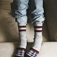 Stance Womens Patchwork Crew Sock