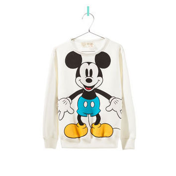 MICKEY MOUSE SWEATSHIRT - Cardigans and sweaters - Girl - New collection | ZARA United States