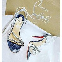 ( S C ) Christian Louboutin 2021 New pointed high heels {2021/8/17)