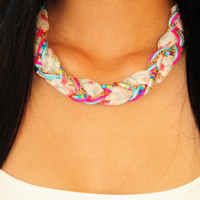 Soft And Sweet Necklace: Multi