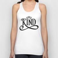 Be Kind Bee Unisex Tank Top by CreativeAngel