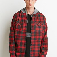 Hooded Plaid Flannel