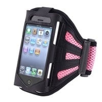 eForCity Pink Sports Armband Case Compatible With iPod touch® 8Gb 16Gb 32Gb