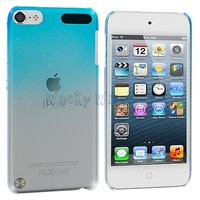 Baby Blue Clear Raindrop Ultra Thin Hard Cover Case for iPod Touch 5th Gen 5G 5