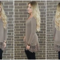 Gingerbread & Lace Tunic