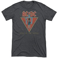 AC/DC Flick of the Switch Adult Soft Tri Blend T-Shirt