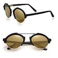 Illesteva - Milan III 54MM Round Sunglasses - Saks Fifth Avenue Mobile
