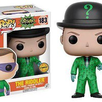 Funko Batman 1966 TV Series Riddler Pop! Vinyl Figure Chase Variant