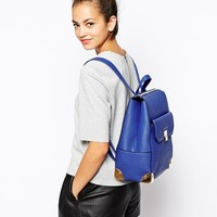New Look | New Look Xhatch Formal Backpack with Pocket at ASOS