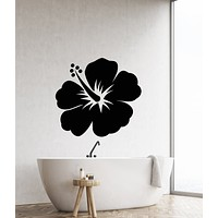 Vinyl Wall Decal Exotic Flower Bud Nature Bedroom Decor Stickers (3511ig)