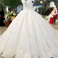 Bridal wedding dress high quality
