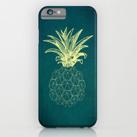 y-hello pineapple iPhone & iPod Case by AmDuf