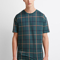 Plaid Pattern Tee