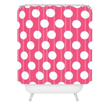 Allyson Johnson Pinkest Pink Shower Curtain