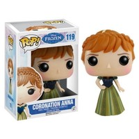 Disney Frozen Coronation Anna Pop! Vinyl Figure : Forbidden Planet