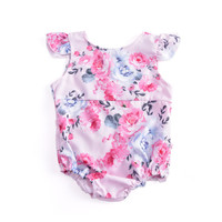 Brandwen 2017 Baby Bodysuits Girls Clothes Summer Infant Sleeveless Jumpsuit Body For Babies Newborns Cotton Baby Clothing