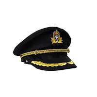 Captain's Hat (Black)