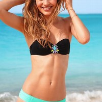 Ruched Low-rise Hipkini Bottom