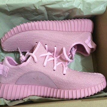 Baby Pink Yeezy Boost 350