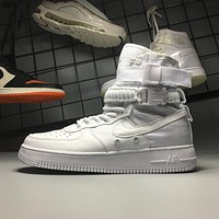 Nike Air Force 1 Special Field Triple White SF AF1 High 903270-100 Sport Shoes