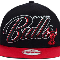 Chicago Bulls NBA HWC Black-Top 9FIFTY Snapback Cap