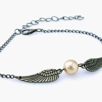 Movie Harry to Potter Golden Jewelry Snitch Retro Alloy Bracelets Bangle to Hogwarts Gift