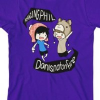 Phil & Dan (Purple) (AmazingPhil and danisnotonfire)