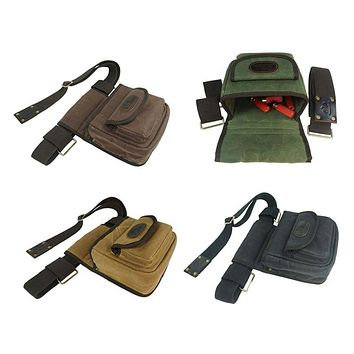 Tactical Military Pouch Cartridge Bag Canvas Shotgun Bullet Carrier Rifle Ammo Holder Hunting Gun Accessories for Shooting
