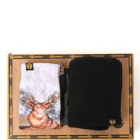 Focused Space Cabin Gift Set - Mens Hats - Brown - NOSZ