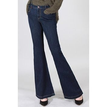 Special A Basic High Rise Flare Jeans