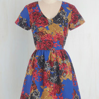Sugarhill Boutique Mid-length Short Sleeves A-line Best Daydream Ever Dress