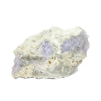 Creedite Very Rare Purple Crystalline gem in rock matrix, mined in Nevada, Geological Earth Specimen for a Gemstone and Mineral Collector