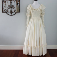Creations by Aria Bridal Gown in Antique Ivory