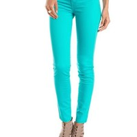 Refuge Skin Tight Ankle-Zip Legging: Charlotte Russe