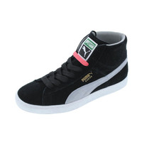 Puma Womens Classic Mid Suede Hi-Top Fashion Sneakers