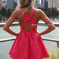 BLESSED ANGEL DRESS , DRESSES, TOPS, BOTTOMS, JACKETS & JUMPERS, ACCESSORIES, 50% OFF SALE, PRE ORDER, NEW ARRIVALS, PLAYSUIT, COLOUR, GIFT VOUCHER,,Pink,CUT OUT,BACKLESS,SLEEVELESS,MINI Australia, Queensland, Brisbane