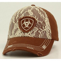 Ariat Lace Brown Cap